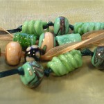 "green ""harvest"" necklaces"