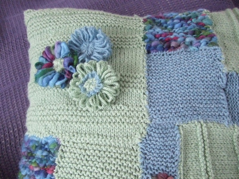 knitted patchwork meeni