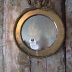 gilt mirror at The End