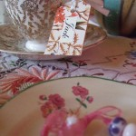 wedding favour & place setting