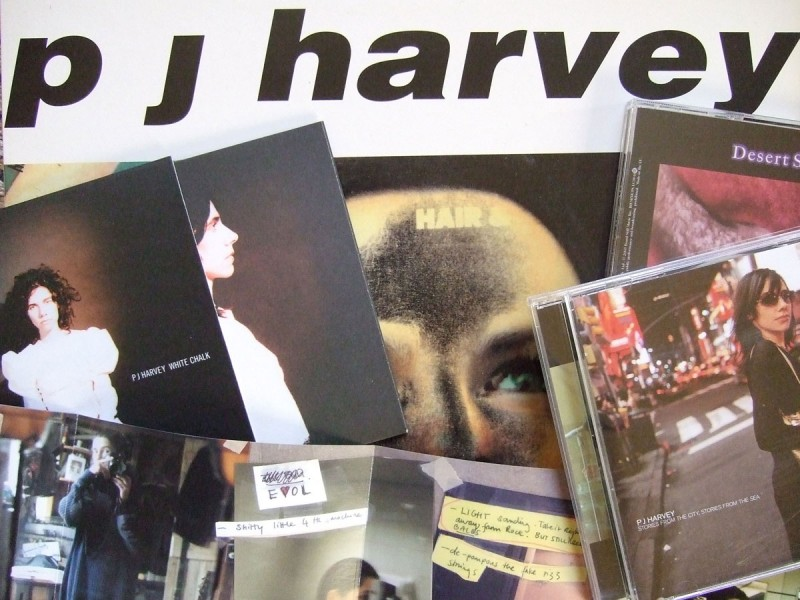 pj harvey records