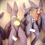 tweedy rabbits -tail detail