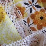 vintage fabrics & cotton lace