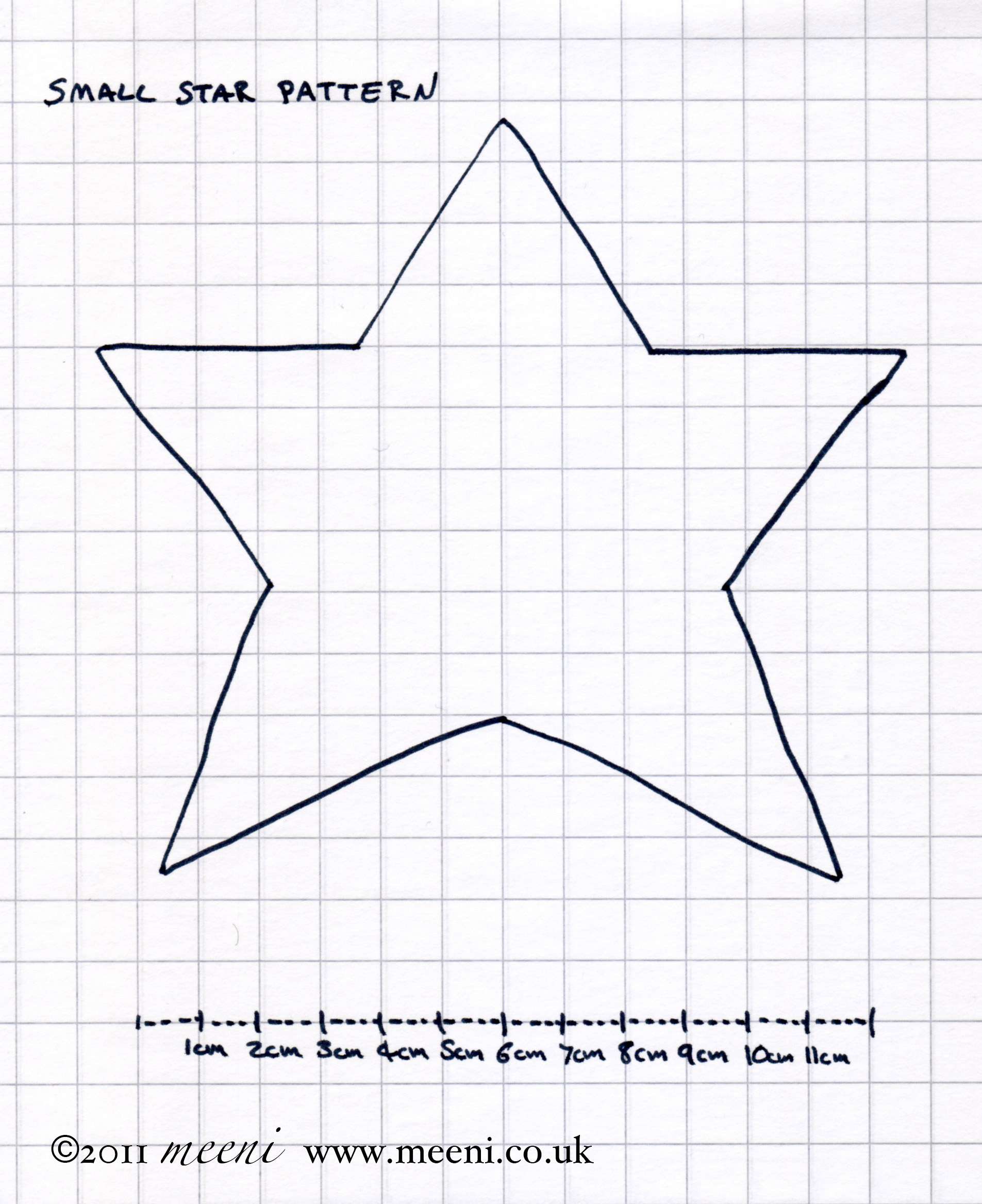 Small star template printable new calendar template site for Small star template printable free