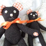 small & medium tweedy bears