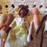 little dolls & rabbits - work in progress